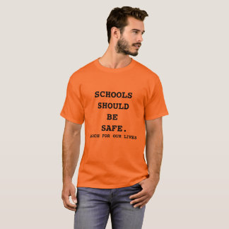 March For Our Lives Shirt Orange