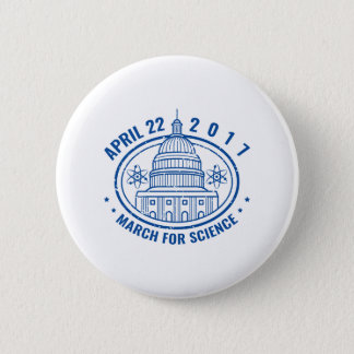 March For Science 2 Inch Round Button