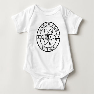 march_for science baby bodysuit