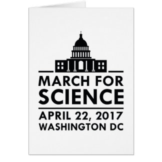 March For Science Card