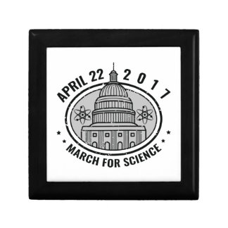 March For Science Jewelry Box