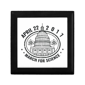 March For Science Keepsake Box