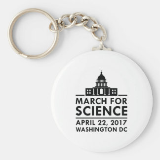 March For Science Keychain