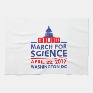 March For Science Kitchen Towel