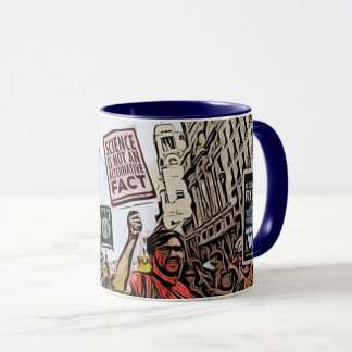 March for Science Protesters Coffee Mug