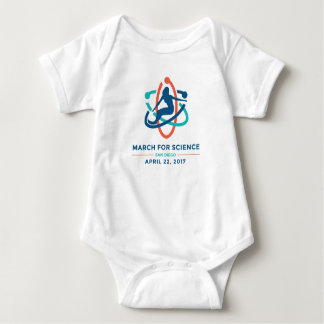 March For Science: San Diego - Baby White Romper