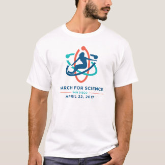 March For Science: San Diego - White T-Shirt