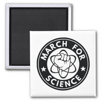 March For Science Square Magnet