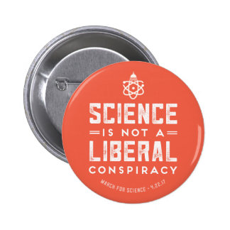 March for Science Support Science Button