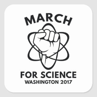 March For Science Washington Square Sticker