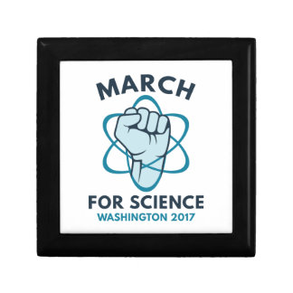March For Science Washington Trinket Box