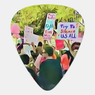 March for Women's Equality Guitar Pick