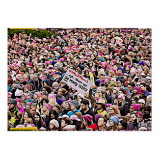 March for Women's Equality Poster