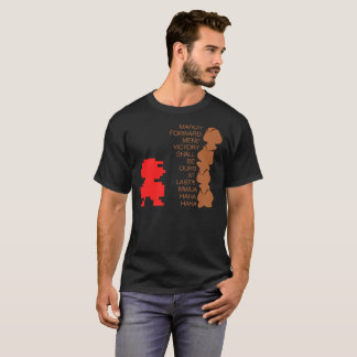 March Forward Men Video Game Shirt