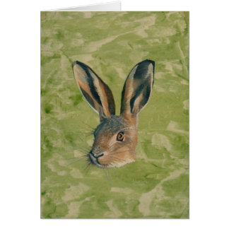 March Hare Card