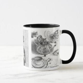 March Hare Mad Hatter Dormouse Wonderland Mug