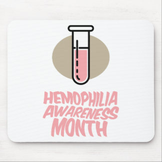 March - Hemophilia Awareness Month Mouse Pad
