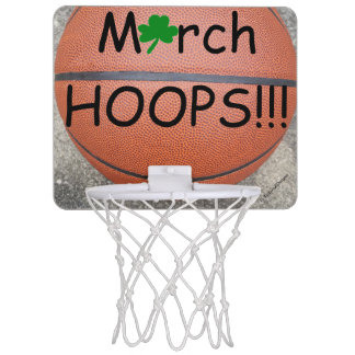 March Hoops Shamrock Basketball Fun