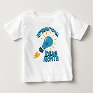 March - International Ideas Month Baby T-Shirt