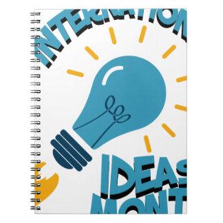 March - International Ideas Month Spiral Notebook