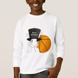 March Mad Hare Basketball T-Shirt