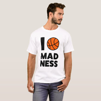"""""""MARCH MADNESS"""" NCAA 2017 College Basketball Tee"""
