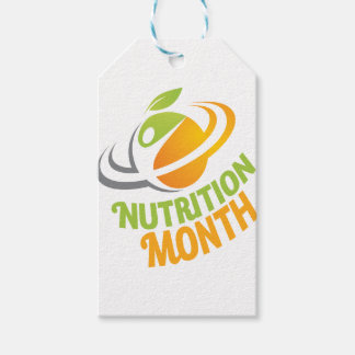 March - Nutrition Month Gift Tags