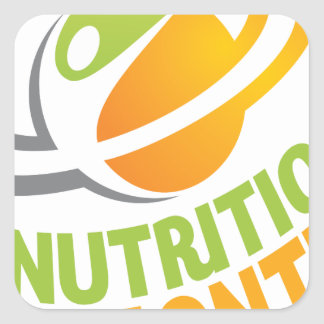 March - Nutrition Month Square Sticker
