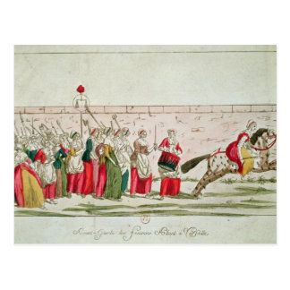 March of the Women on Versailles Postcard
