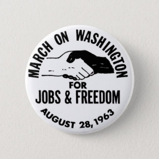 March on Washington 1963 2 Inch Round Button