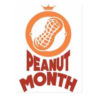 March - Peanut month - Appreciation Day Postcard