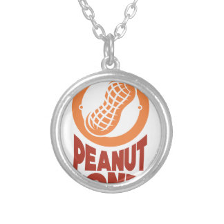March - Peanut month - Appreciation Day Silver Plated Necklace