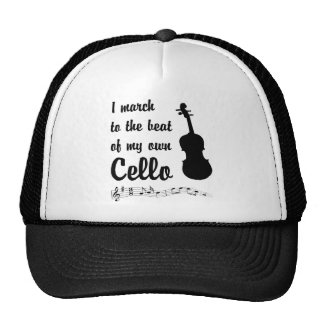 March to the Beat: Cello Mesh Hat