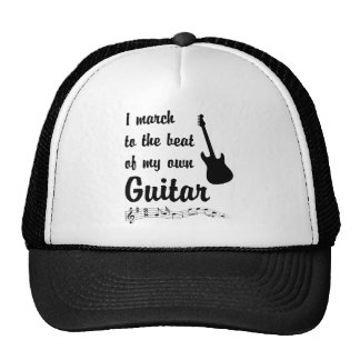 March to the Beat: Guitar Mesh Hats