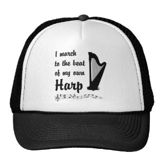 March to the Beat Harp Mesh Hats