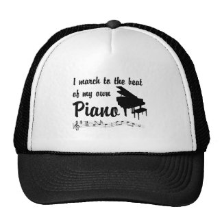 March to the Beat: Piano Hat