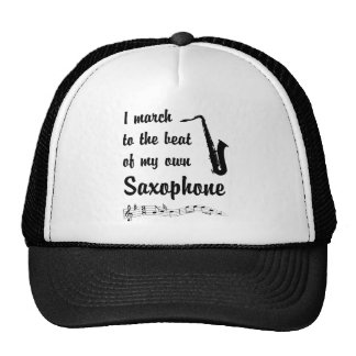 March to the Beat: Saxophone Mesh Hat