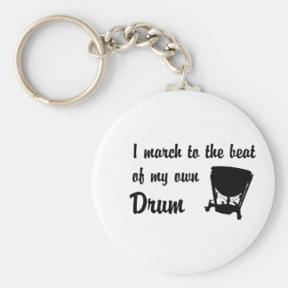 March to the Beat: Timpani Keychain