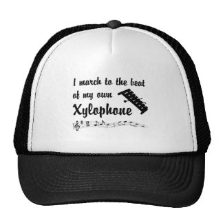 March to the Beat: Xylophone Mesh Hat