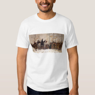 March to Valley Forge - William Trego  (1883) Shirts