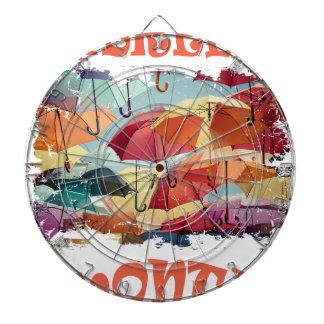 March - Umbrella Month - Appreciation Day Dartboard