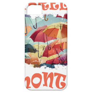 March - Umbrella Month - Appreciation Day iPhone 5 Covers