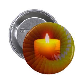 Marchandises d'illusion de Candlelite Macaron Rond 5 Cm