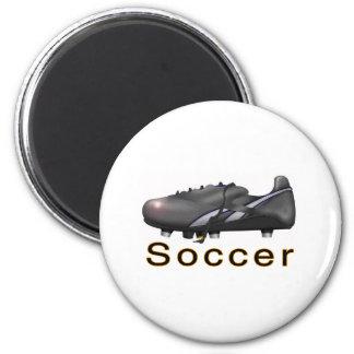 marchandises du football magnet rond 8 cm