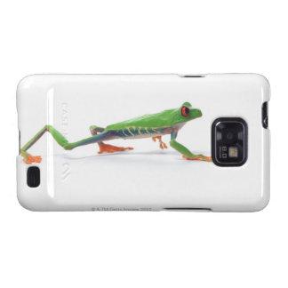 Marche observée par rouge de grenouille d arbre coques galaxy SII