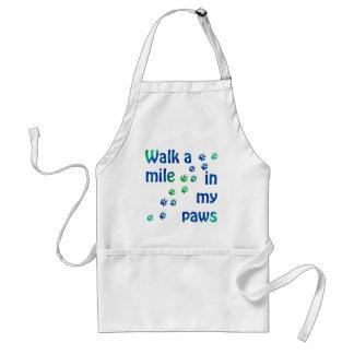 Marchent un mille (canin) tablier
