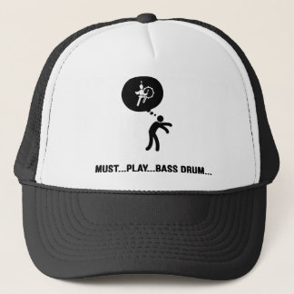 Marching Band - Bass Drum Trucker Hat