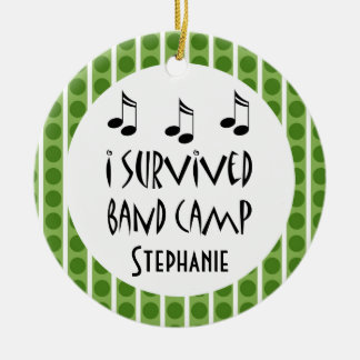 Marching Band Camp Personalized Ornament