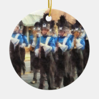 Marching Band Ceramic Ornament