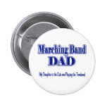 Marching Band Dad/ Trombone Button